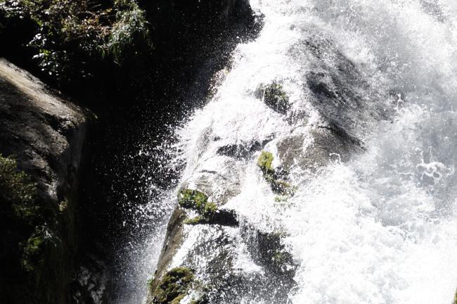 白谷雲水峡トレッキング 下流の川.jpg